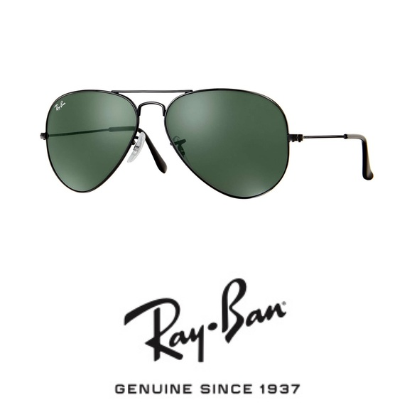 ray ban aviator classic black frame